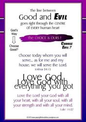 David & Saul Bible verse card 4x6
