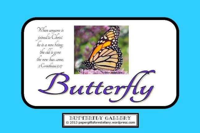 Butterfly Verse Card 4x6