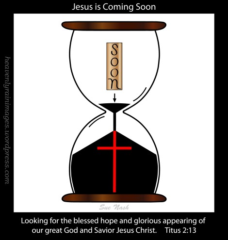 Sue Nash jesus-is-coming-soon