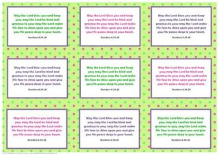 Frog Bible verse wallet cards A4