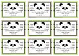 Panda Wallet Cards A4