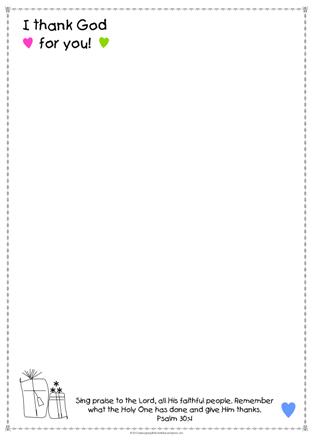 Thankful Stationery A4-SAMPLE