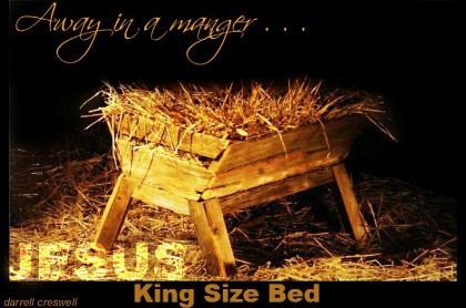 darrell creswell Manger - King size bed