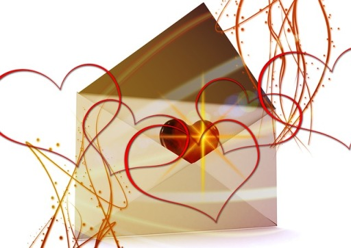 envelope of love