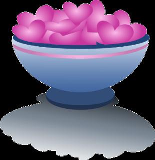 bowl of hearts