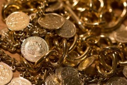treasure gold and coins