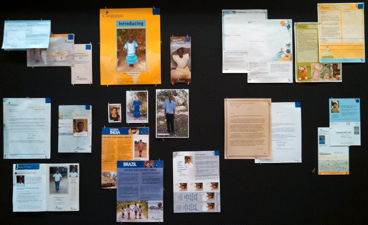 Compassion Global Ministry Centre Bulletin Board