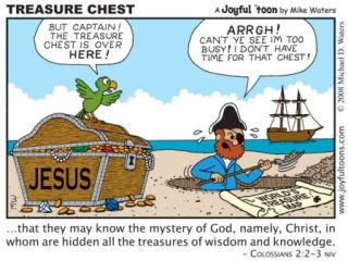 JoyfulToon-Bible treasure chest