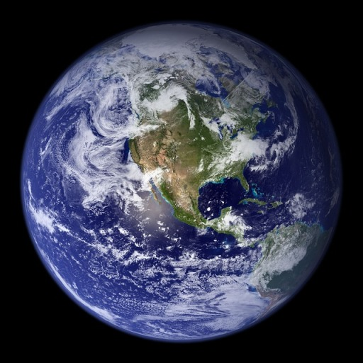 planet earth blue marble