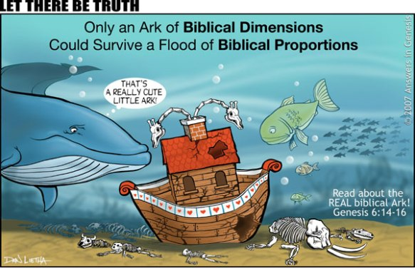 On Noah's Ark Coloring Mural | 377x584