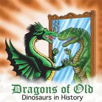 dinosaur dragon in mirror