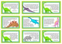Dinosaur Bible Verse Wallet Cards for Kids