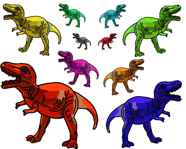 dinosaur-trex-rainbow