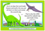 Dinosaur free printable Poster for kids A4