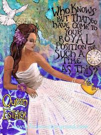 Queen Esther_free printable image From Victory Road