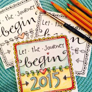 Karla Dornacher-Let the Journey Begin 2015