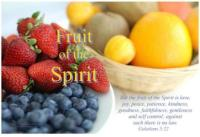 Galatians 5:22-23 Fruit of the Spirit Free Printable Bible Poster