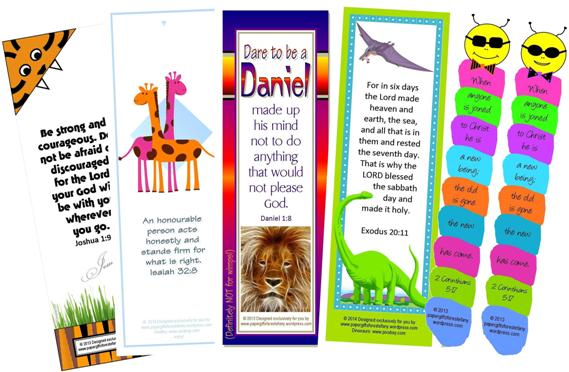 FREE Bible Bookmarks