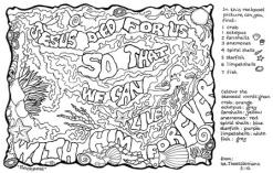 Scripture doodle 1 Thessalonians 5:10