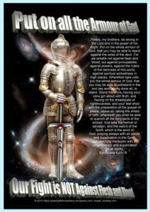 Armour of God free printable poster for kids