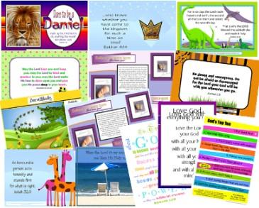 PGFE Bible verse cards composite
