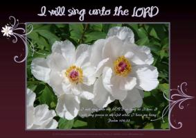 Free printable Bible verse poster featuring Psalm 104:33