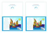 Happy Sail Boats FREE printable Bible Note Cards for kids A4