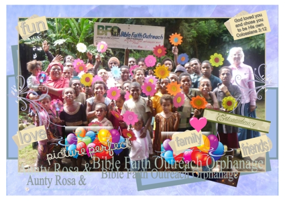 Aunty Rosa & orphans