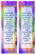 FREE Bookmark with Bible verse Proverbs 3:5-6