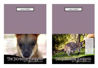 FREE Kangaroo Photo Note Cards