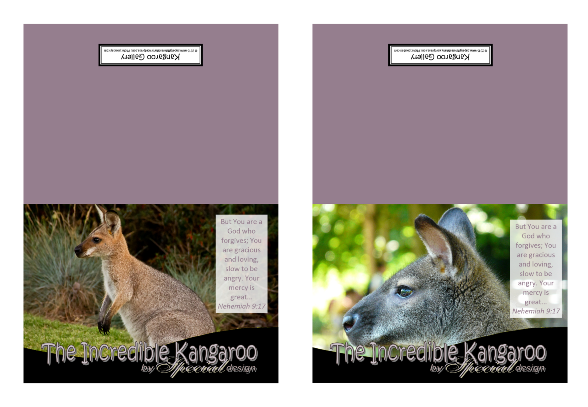 FREE Kangaroo Note Cards with Bible verse Nehemiah 9:17