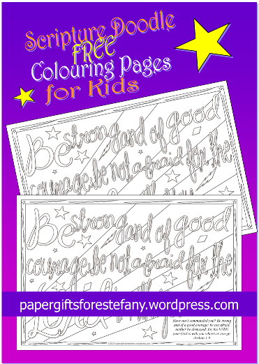 Scripture doodles 1 psalms paper gifts estefany, coloring pages love hearts