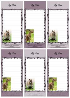 FREE Kangaroo Mini To Do List with Bible verse Nehemiah 9:17