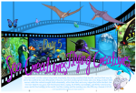 Let there be sea creatures and flying creatures - Creation Day 5 free printable Bible poster for kids