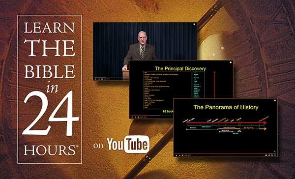 Dr Chuck Missler from khouse.org; Learn the Bible in 24 hours video series