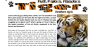 SAMPLE Tiger Article for kids; free printable