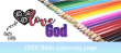 FREE Scripture Doodle; Deuteronomy 6:5; free printable
