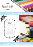 FREE Scripture Doodle with Bible verse from Isaiah 5:20; free printable