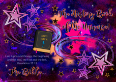 FREE Bible Poster; Revelation 22:13; I am Alpha and Omega; The Bible is the history book of the universe; free printable