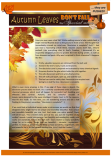 PGFE Fall / Autumn Article for kids; free printable