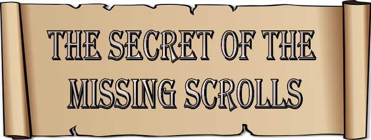 The Secret of the Missing Scrolls; fun Bible adventure theme for kids