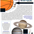 Universe article for kids giving glory to God as designer; free printable