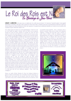 FRENCH Genealogy of Jesus - Christmas article for kids; free printable