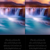 FREE Waterfall Sunset Bible Bookmark with Bible verse from Isaiah 45:8; free printable