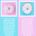 FREE Sweet Fragrance of Christ Bookmarks with Bible verse from 2 Corinthians 2:14-16 and iced donuts on pink and aqua background; free printable