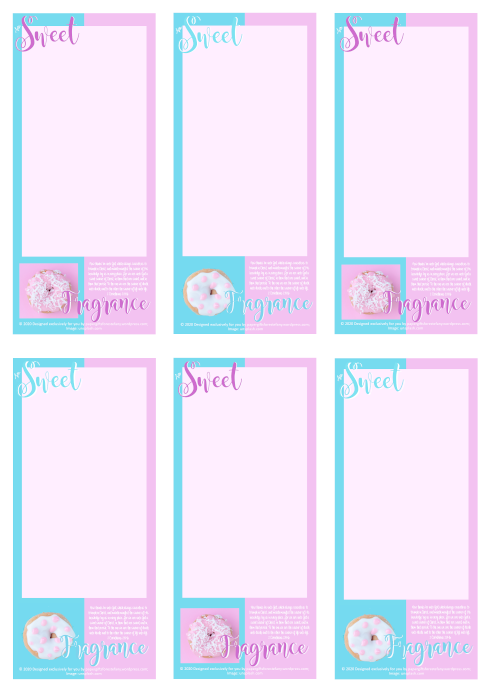 FREE Sweet Fragrance of Christ To Do List with Bible verse from 2 Corinthians 2:14-16 and iced donuts on pink and aqua background; free printable