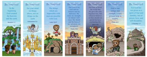 FREE Bible bookmarks; free printable