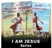 I AM The Good Shepherd booklet; free printable